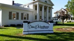 Iowa Sign Company Dahn & Woodhouse Funeral Home