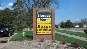 Storage Mart Monument Sign Des Moines