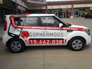 Gophermods Custom Car Graphics Iowa Sign Company